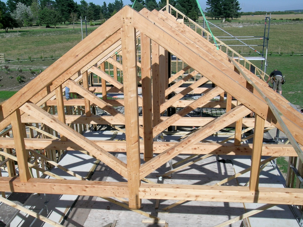 King Post Truss With Queen Posts Archives Timberworks
