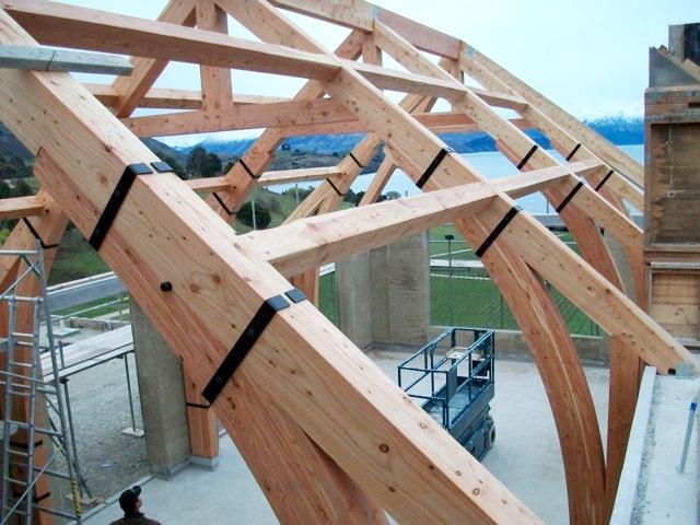 Larch Purlins Ridges Hip Rafters Cruck Hall Portal