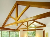 <h5>2. Richmond Cabin King-Post Trusses</h5>