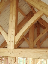 <h5>2. King-Post Truss detail</h5>