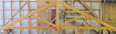 <h5>1. King-Post Truss with Queen Posts</h5>