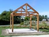 <h5>4 Gazebo raised on site in Mapua</h5>