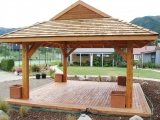 <h5>5. Hanmer hotel wedding gazebo</h5>