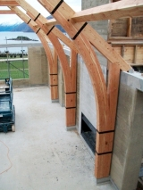 Larch Purlins Ridges Hip Rafters Cruck Hall Portal