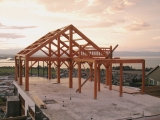 <h5>05 The completed frame, our job is now done and it's over to the builders</h5>