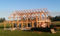 <h5>2 Frame in Springbank nearing completion</h5>