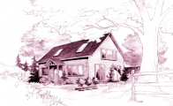 <h5>1  Artist's impression of an English barn</h5>