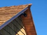 <h5>07 Cedar shingles on end gable and roof</h5>