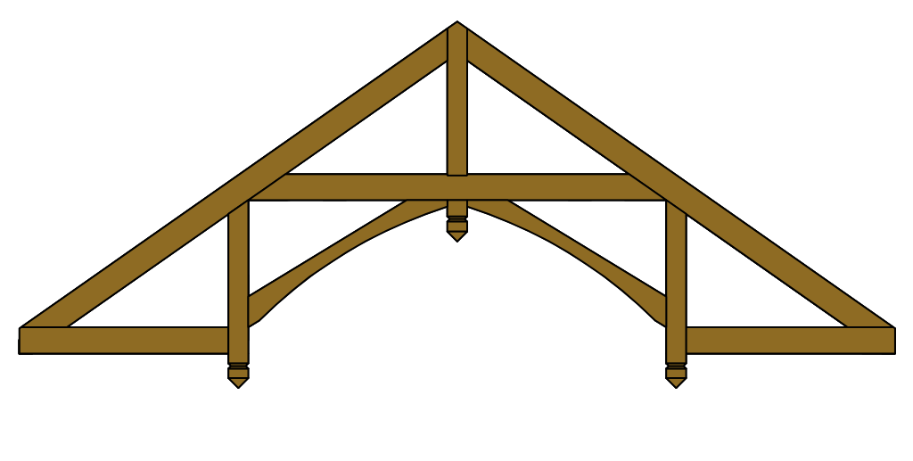Hammer-Beam Roof Truss