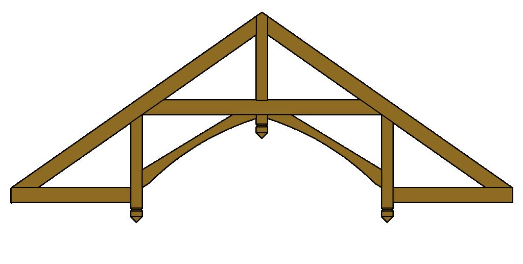 Roof Trusses Exposed Decorative Truss Designs