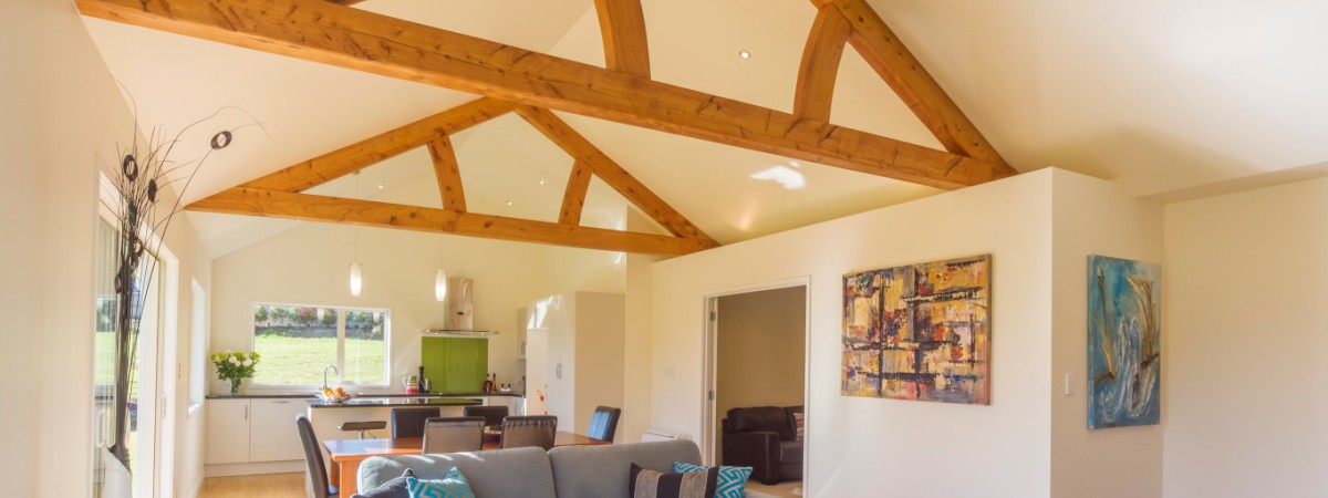 Timber-Frame Construction - Exposed Frames and Trusses NZ