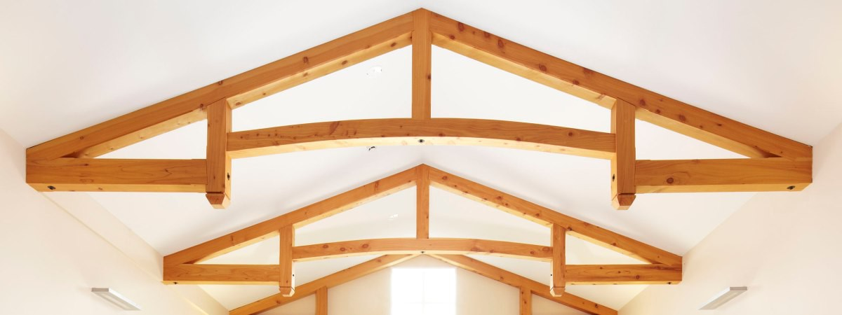 Timber frame construction exposed frames and trusses nz for Exposed trusses cost