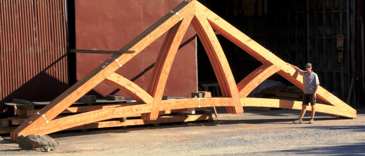 Timber Frame Construction Exposed Frames And Trusses Nz